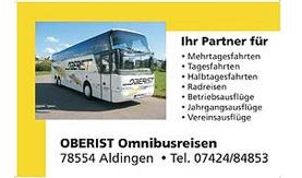 Oberist Omnibusreisen