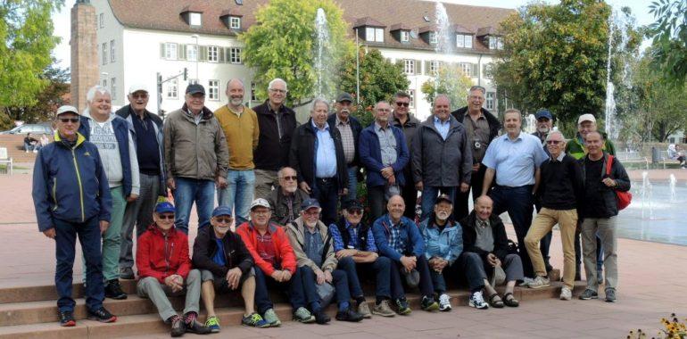 """Die """"fit und aktiv"""" Gruppe zu Fuß im Schwarzwald!"""